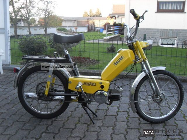 1981 Sachs  RIXE Motorcycle Motor-assisted Bicycle/Small Moped photo
