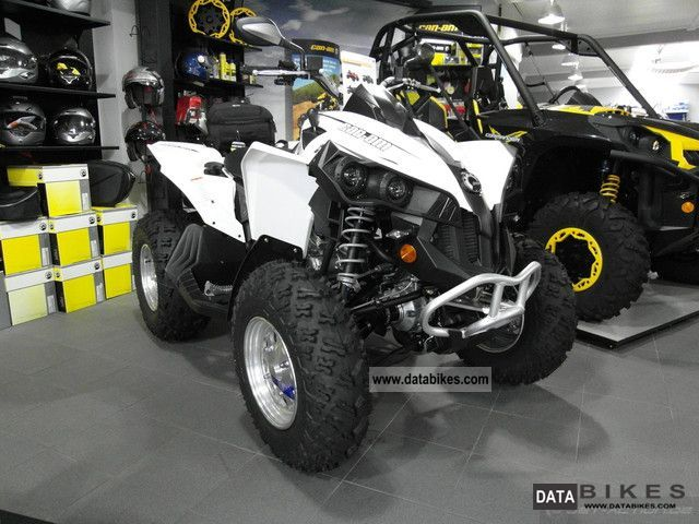 2012 BRP  Can-Am Renegade 500 LOF including approval Motorcycle Quad photo