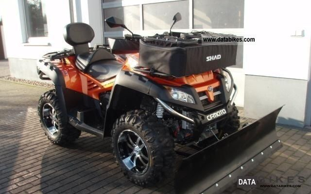2012 CFMOTO  Terra Lander Explorer 800 V2 EFI 4x4 Motorcycle Quad photo