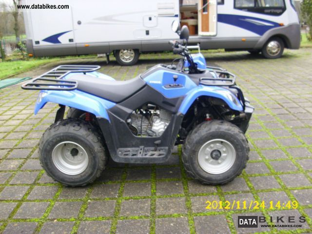 2009 Kymco  MXU 150 Motorcycle Quad photo