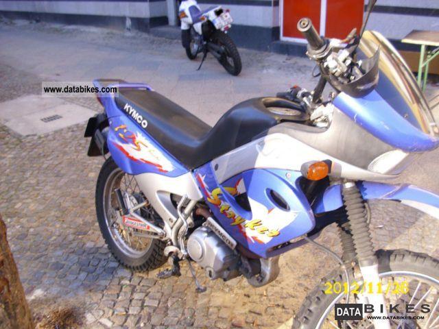 2000 Kymco  125cc enduro Motorcycle Enduro/Touring Enduro photo