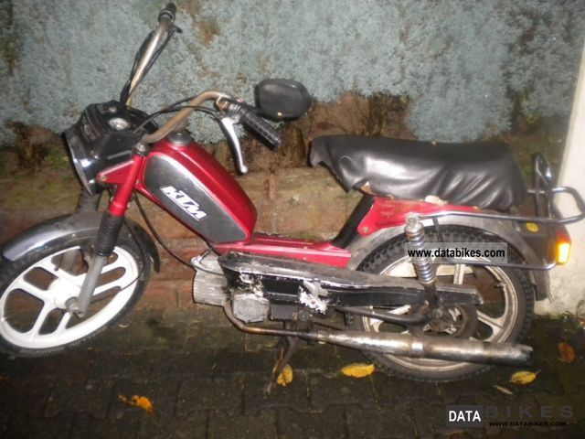 1985 KTM  pony Motorcycle Motor-assisted Bicycle/Small Moped photo