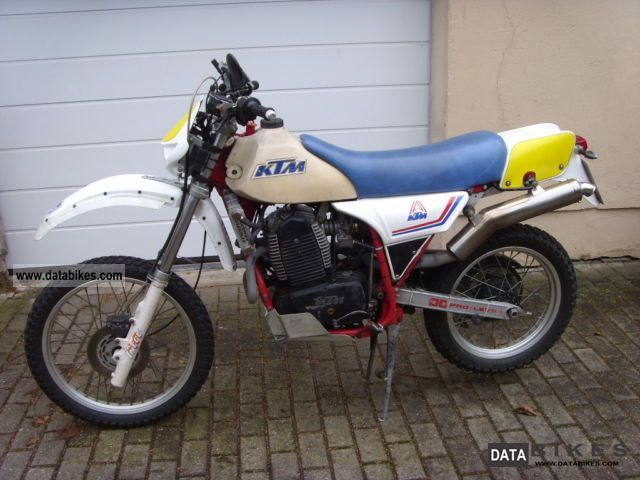 1983 KTM  Rotax 560 GS Motorcycle Enduro/Touring Enduro photo