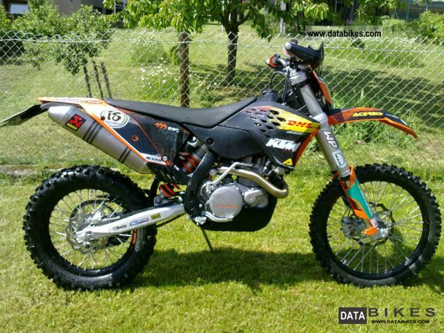 2010 KTM  400 EXC Motorcycle Enduro/Touring Enduro photo