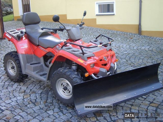 2004 Can Am  Bombardier BRP Outlander Max Motorcycle Quad photo