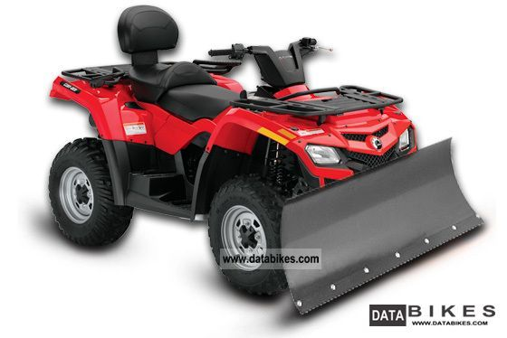 2012 Can Am  Outlander MAX 400 4x4 + Can-Am Winter Package Motorcycle Quad photo