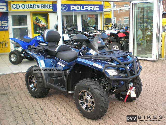 2012 Can Am  Outlander 800 R + Limited LTD Winter Package Motorcycle Quad photo