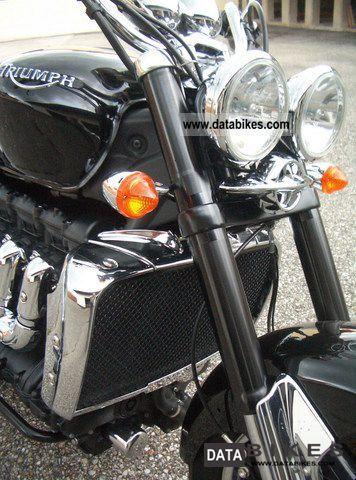 2010 Triumph  Rocket3 Roadster ABS Motorcycle Chopper/Cruiser photo
