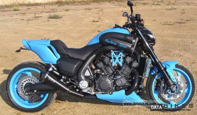 2012 Yamaha V Max 1700 Shocking Blue Custom Bike Show