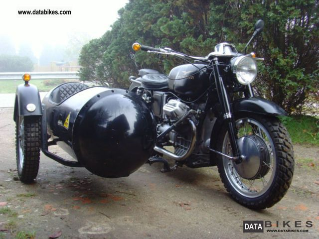 Moto Guzzi  V7 with Velorex sidecar not restored 1939 Vintage, Classic and Old Bikes photo
