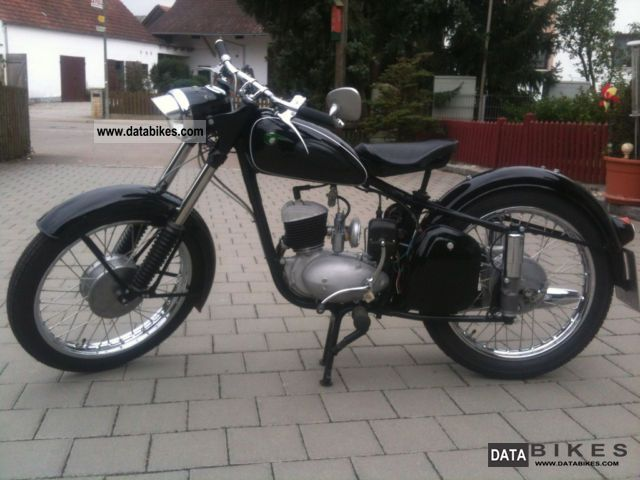 Mz  RT 125 1958 Vintage, Classic and Old Bikes photo