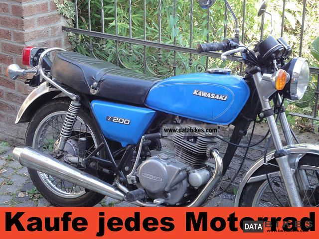 Kawasaki  Z 200, with 1 year warranty 1979 Vintage, Classic and Old Bikes photo
