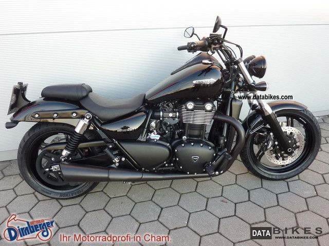 Triumph  Thunderbird 1700 black ABS + + + + Back in Black 2012 Chopper/Cruiser photo