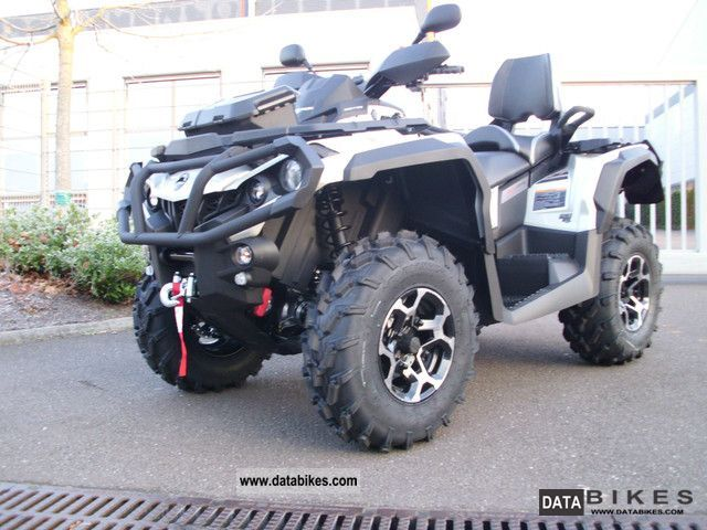 2012 Can Am  Outlander Max 1000 Limited \ Motorcycle Quad photo
