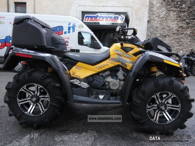 2012 Can Am  BD CAN AM Outlander 800 MUD 800 AIR SUSPENSION 2 Motorcycle Quad photo