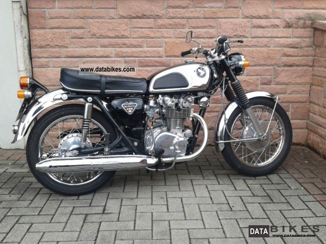 Honda  CB 450 K 1971 Vintage, Classic and Old Bikes photo