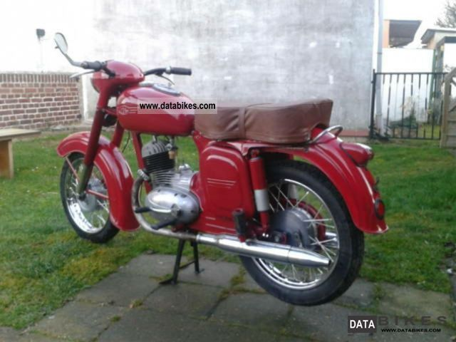 Jawa  175 CZ 1956 Vintage, Classic and Old Bikes photo