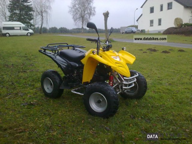 2004 Adly  / Hercules XXL Motorcycle Quad photo