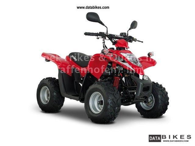 2012 Kymco  Maxxer 50 street legal Motorcycle Quad photo