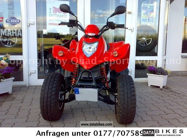 2010 Kymco  KXR with 250 sports exhaust top maintained condition! Motorcycle Quad photo