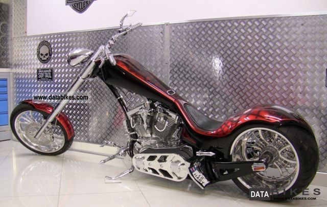2009 Harley Davidson  Thunder Spider - Custom Bike Motorcycle Chopper/Cruiser photo