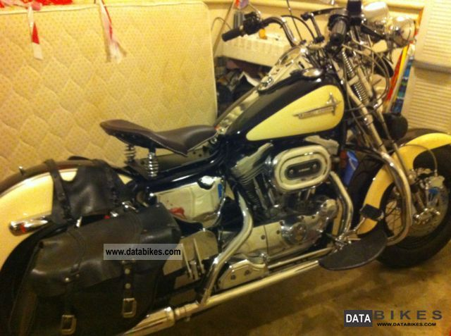1995 Harley Davidson  sportster custom Motorcycle Motorcycle photo