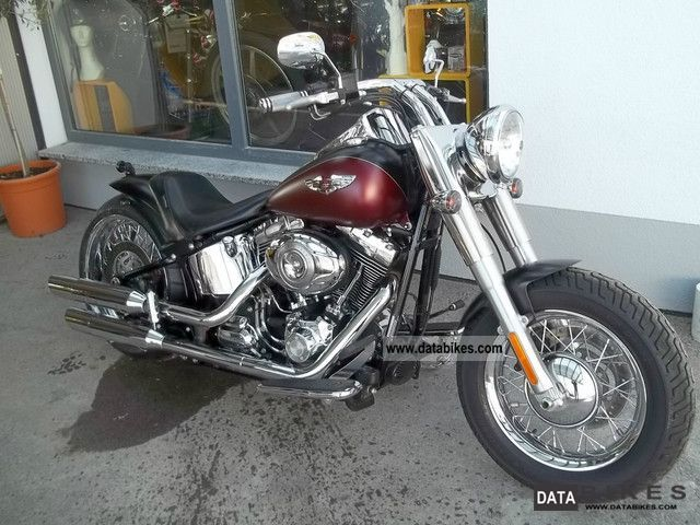2008 Harley Davidson  Softail Deluxe with 240 rear conversion Motorcycle Chopper/Cruiser photo