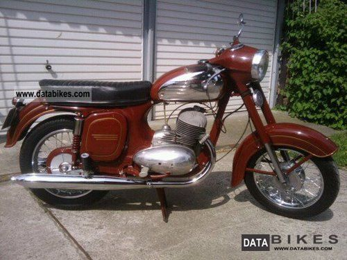 Jawa  354 1964 Vintage, Classic and Old Bikes photo