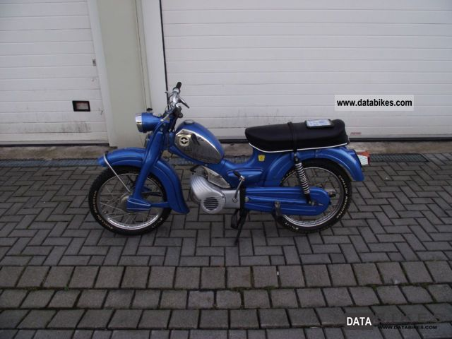 Zundapp  Zündapp Super Model C50 441 01 1975 Vintage, Classic and Old Bikes photo