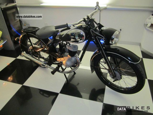 DKW  RT 125 W 1950 Vintage, Classic and Old Bikes photo