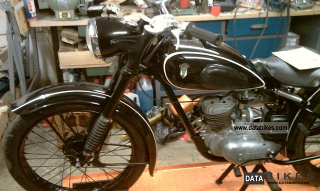 DKW  RT 125 1953 Vintage, Classic and Old Bikes photo