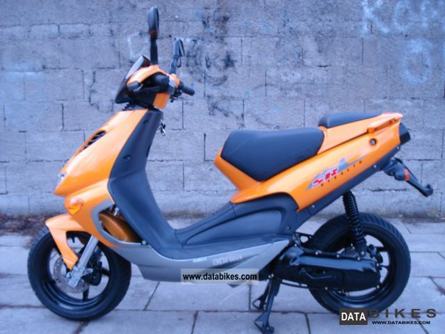 1998 Aprilia  25er and 50er papers Orange Original SUPER ZUS Motorcycle Motor-assisted Bicycle/Small Moped photo