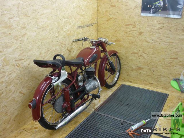 Mz  RT / 1 125 1955 Vintage, Classic and Old Bikes photo