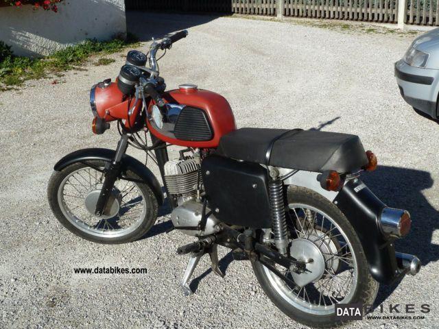 1980 Mz  TS 125 Motorcycle Motorcycle photo