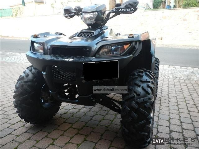 2012 Suzuki  KingQuad 750 AD Motorcycle Quad photo