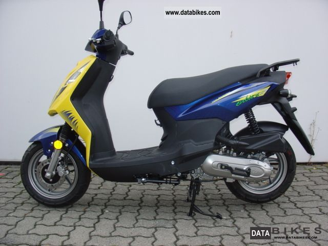 2012 SYM  Orbit II model year 2009 Motorcycle Scooter photo