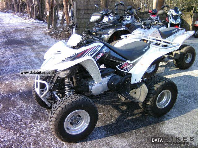 2012 Kymco  Maxxer 450 Motorcycle Quad photo