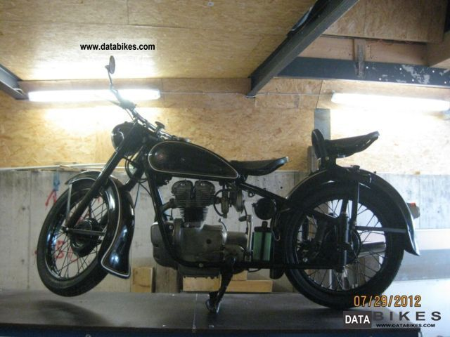 Simson  425T 1959 Vintage, Classic and Old Bikes photo
