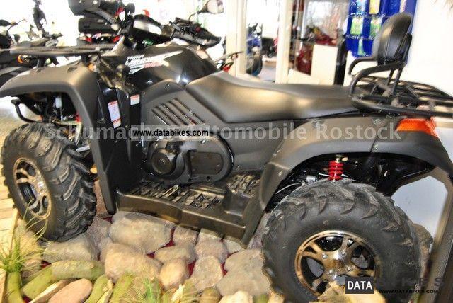 2012 CFMOTO  TERRA LANDER 625 EFI / LOF Motorcycle Quad photo
