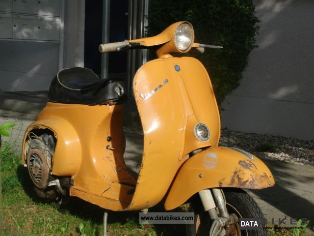 Vespa  50 N R Original paint Giallo Positano 1970 Vintage, Classic and Old Bikes photo