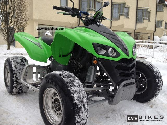2007 Kawasaki  KFX 700 High Performance chassis wide high value Motorcycle Quad photo