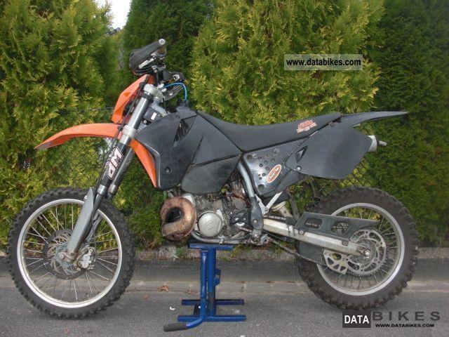 1999 KTM  300 EXC, Model 2000 (250 sx) Motorcycle Enduro/Touring Enduro photo