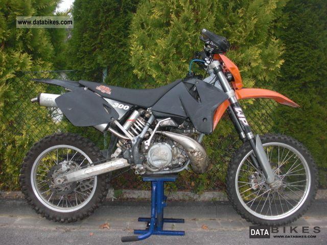1999 KTM 300 EXC Model 2000 250 Sx Motorcycle Enduro Touring