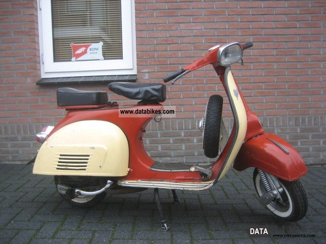 Vespa  BARN SUPER FUND VESPA 150 CC, DC: 1969 1969 Vintage, Classic and Old Bikes photo