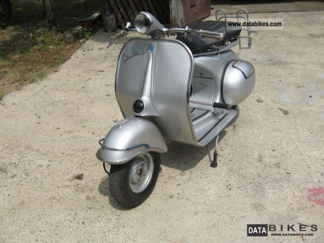Vespa  piaggio 1952 Vintage, Classic and Old Bikes photo