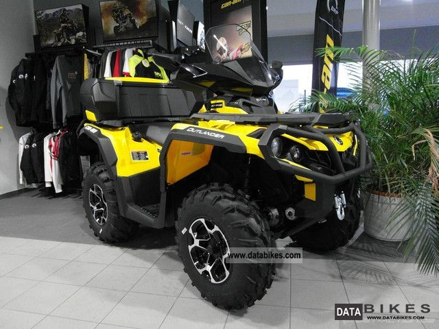 Bombardier  BRP Can-Am Outlander 1000 XT or EC LOF (VKP) 2012 Quad photo