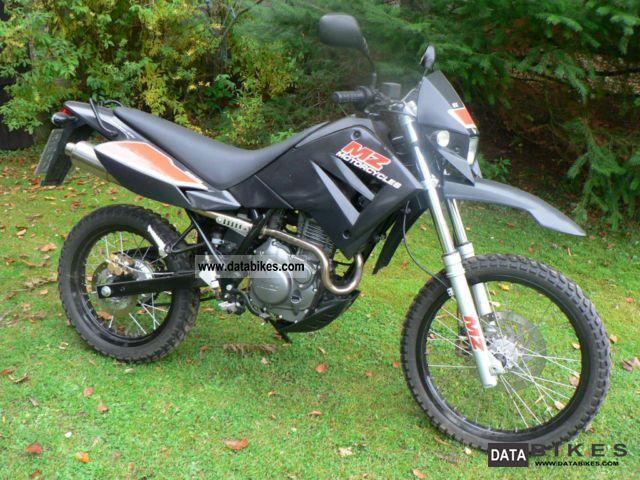 2008 Mz  SX 125 Motorcycle Lightweight Motorcycle/Motorbike photo