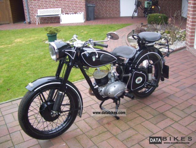 DKW  rt 200 1953 Vintage, Classic and Old Bikes photo