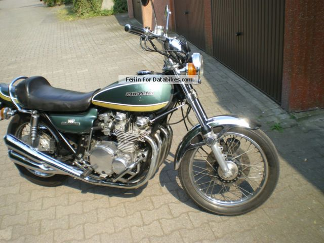 1975 Kawasaki  Z1 900 Motorcycle Naked Bike photo