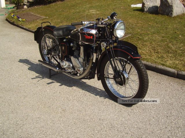 BSA  m33 1947 Vintage, Classic and Old Bikes photo